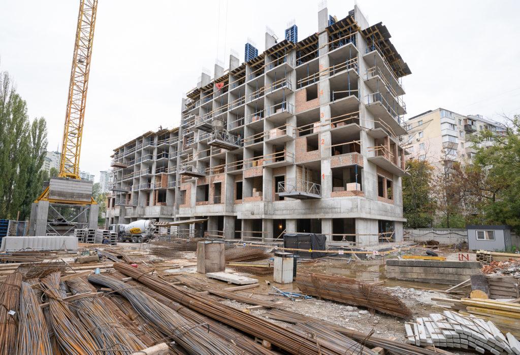 Динаміка будівництва станом на 31.10.20