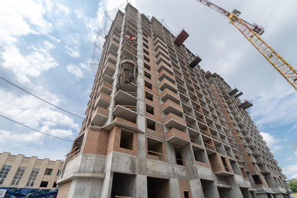Динамика строительства по состоянию на 31.05.2021