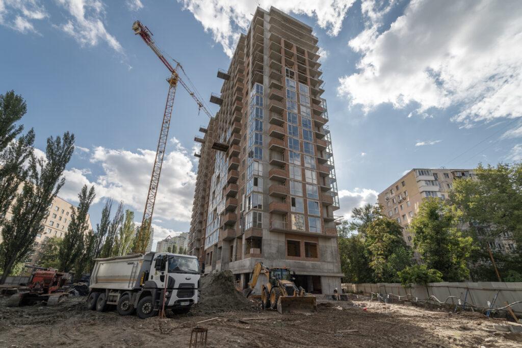Динамика строительства по состоянию на 31.08.2021